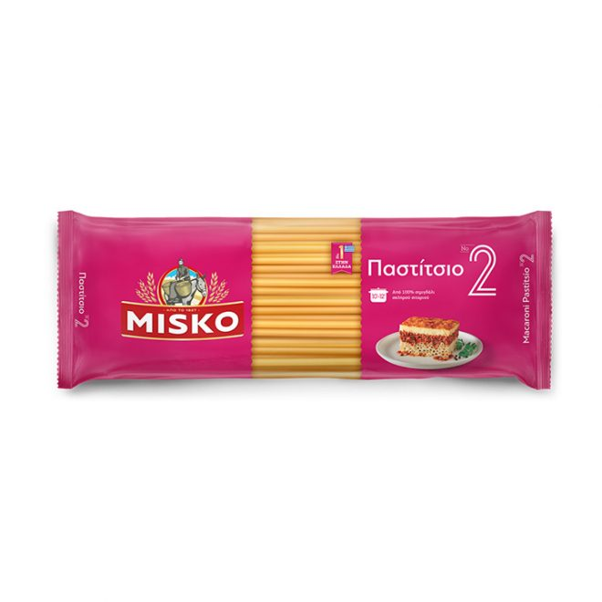 Misko pasta voor pastitsio 500 gram