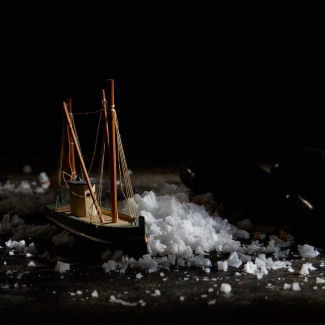Afbeelding van Grieks zeezout, fleur de sel uit Messolonghi