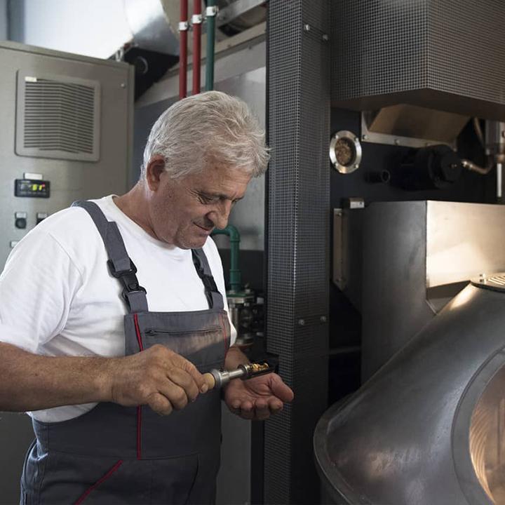 Het koffiebranden is een nauwkeurig proces