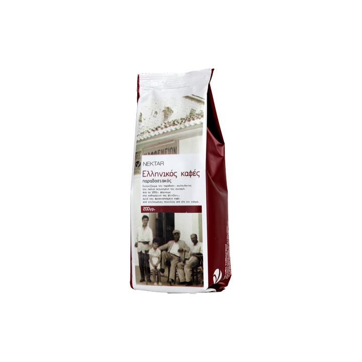 Griekse koffie 250 gram traditional blend van Nektar