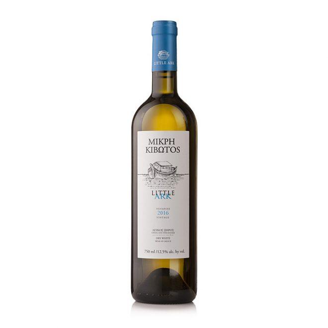 Fles Little Ark witte wijn uit Griekenland van Lantides