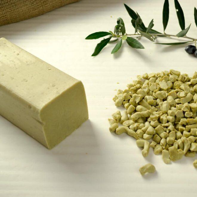 Groene olijfzeep van ABEA Oliva