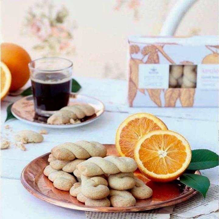 Griekse sinaasappelkoekjes: Koulourakia van Petit Grecs
