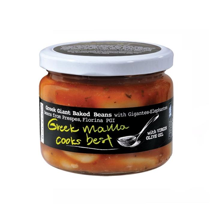 Griekse reuzenbonen in tomatensaus met tijm, Greek Mama Cooks Best!
