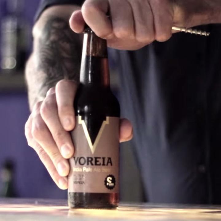 Voreia bier van Siris Microbrewery