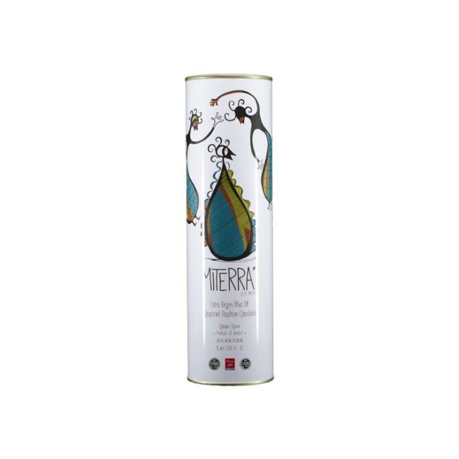Grieks extra vergine olijfolie van MiTerra in blik van 1 liter