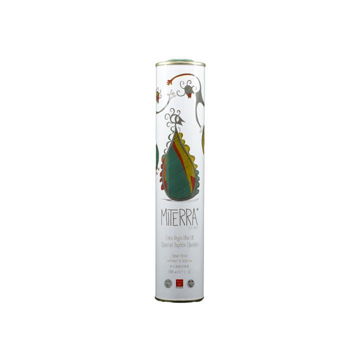 Grieks extra vergine olijfolie van MiTerra in blike van 500 ml