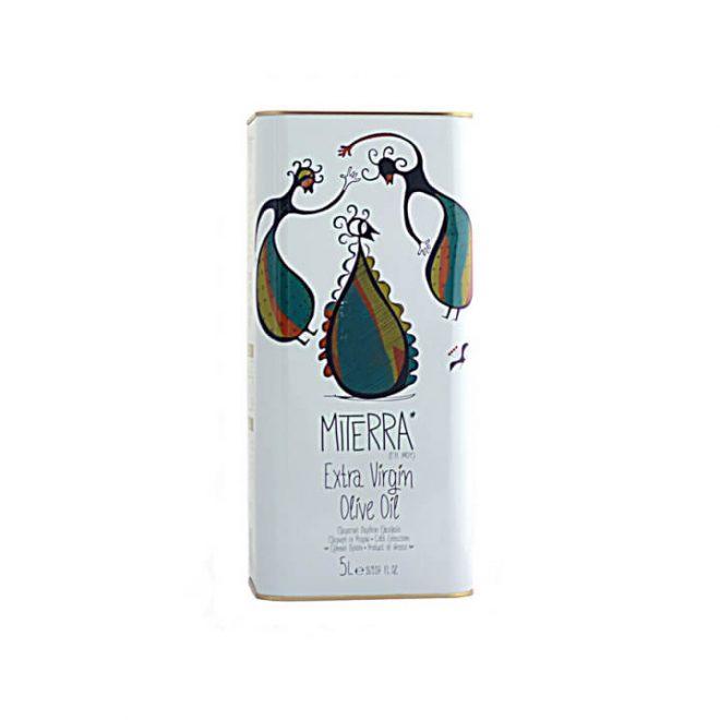 Griekse olijfolie 5 liter van MiTerra uit Kreta