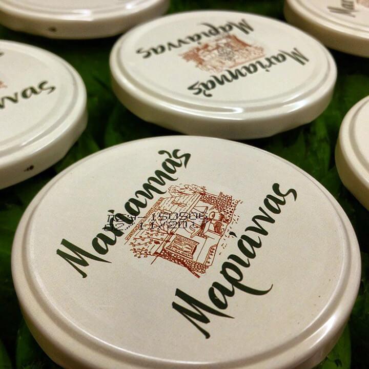 Potten Griekse wijnbladeren van Marianna's