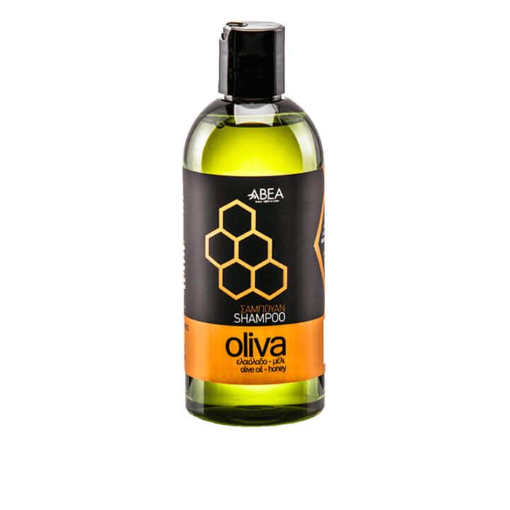 Olijfolie shampoo van Oliva, verrijkt met honing