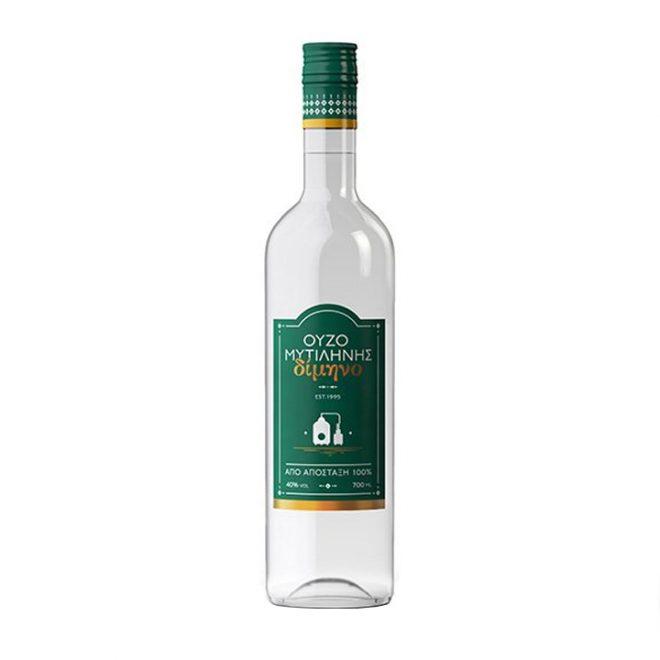 Heerlijke ouzo van Lesbos, fles van 700 ml van EVA Distillery