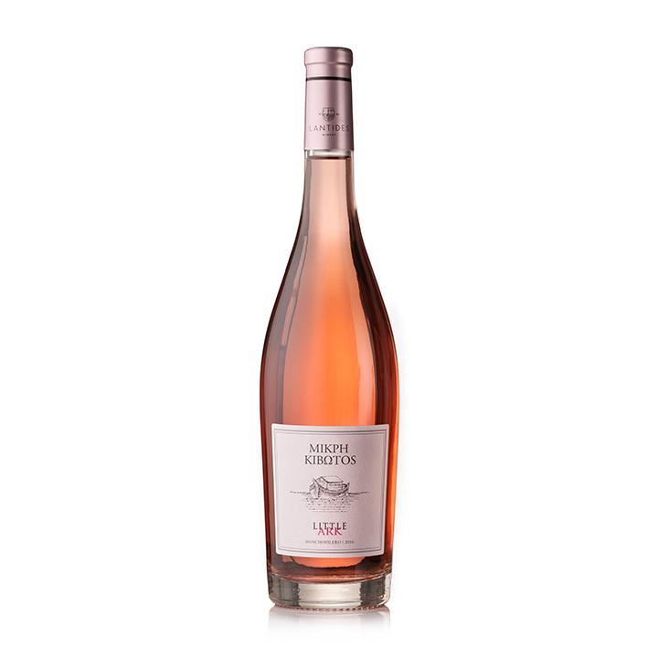 Verfijne roséwijn uit Griekenland van de Moschofilero druif, afkomstig uit de Peloponnesos