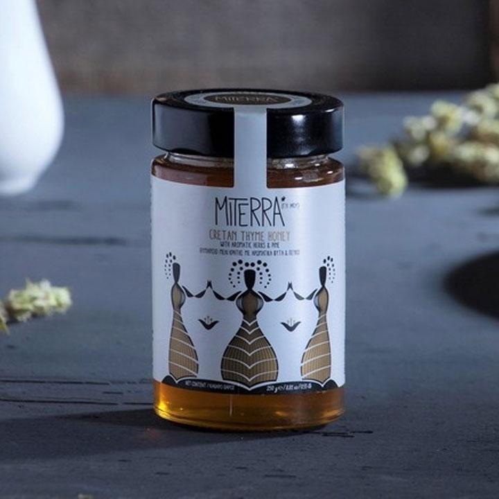 Griekse honing van MiTerra uit Kreta