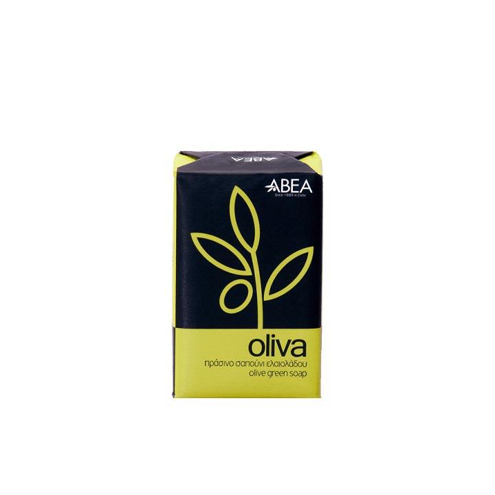 Natuurlijke groene olijfzeep met olijfolie