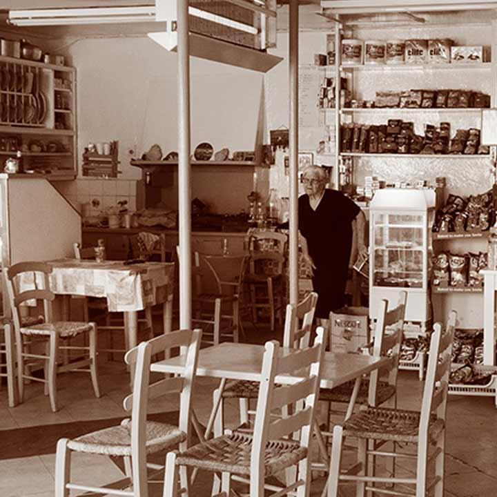 Een klassiek buurtwinkeltje in Pilion