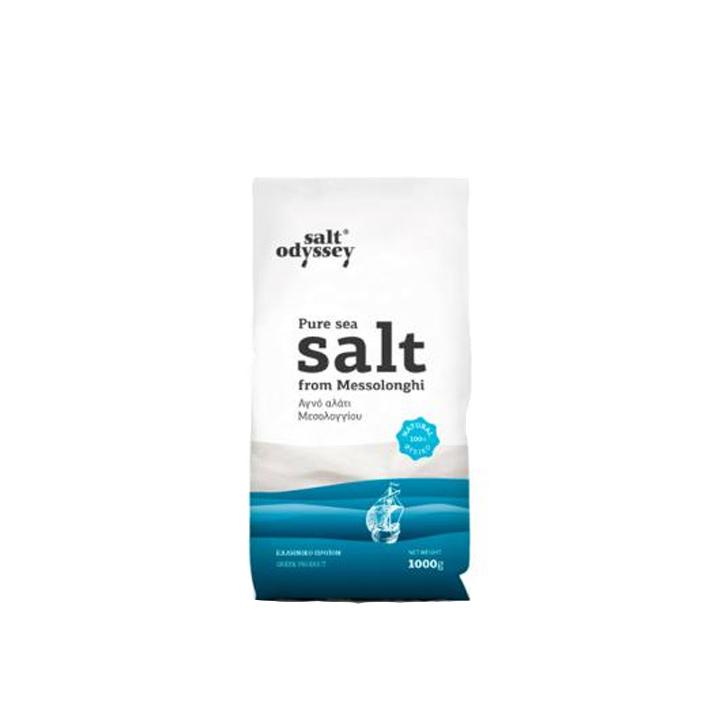 Grieks zeezout fijn uit Messolonghi van Salt Odyssey