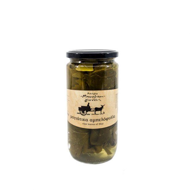 Wijnbladeren 240 gram voor dolmades en dolmadakia