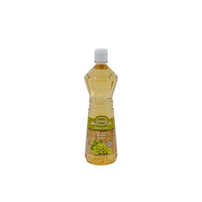 Natuurlijke witte wijnazijn uit Griekenland in fles van 350 ml