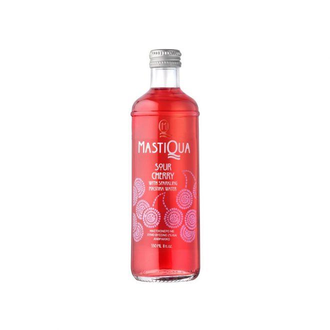 Griekse limonade met mastiek en Sour Cherry smaak van MastiQua