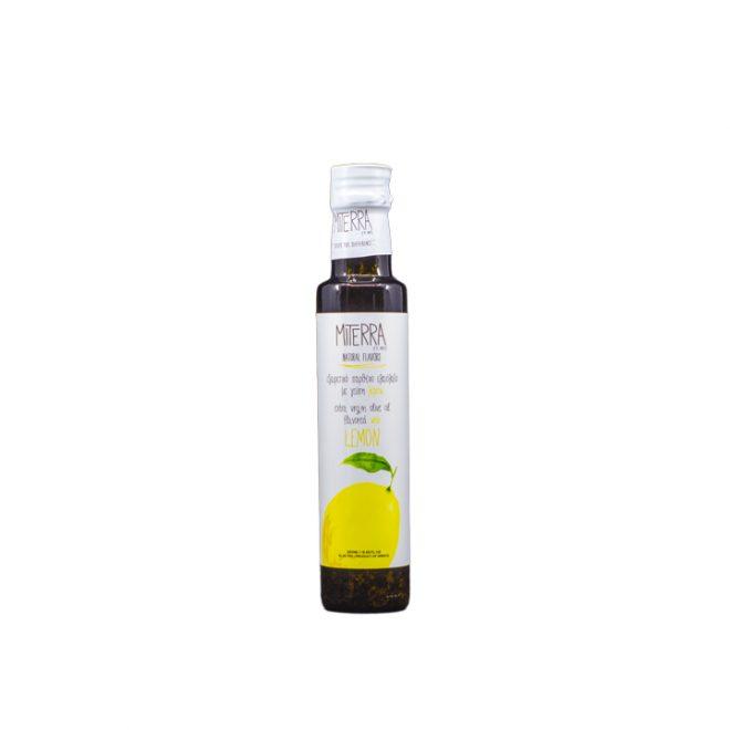 Griekse extra vergine olijfolie met citroen