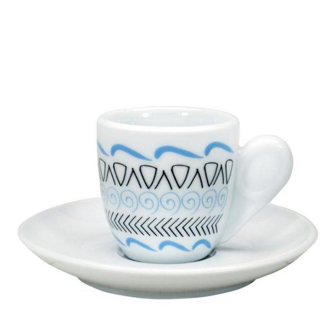 Grieks koffiekopje in Cycladische stijl van Ploos Design