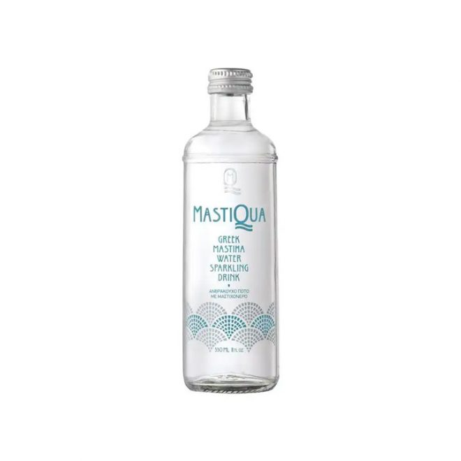 Grieks bruisend bronwater met mastiek van MastiQua
