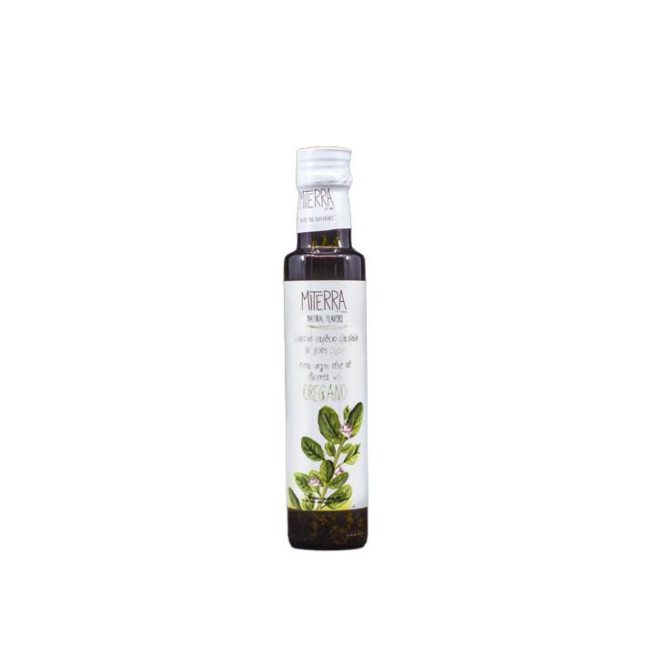 Griekse extra vergine olijfolie met Griekse oregano van MiTerra